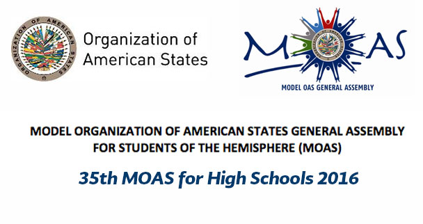 35th Model Organization of American States (OAS) General Assembly for High School